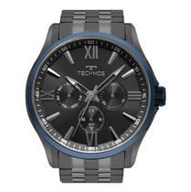 Relógio Technos Masculino Ref: 6p29ajv/4p Multifunção Grafite -