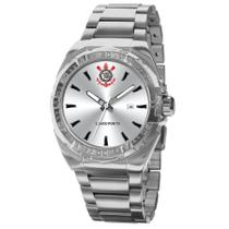 Relógio Technos Masculino Ref: Corcam2315ab/3p Prateado Corinthians -