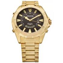 Relógio Technos Masculino Skydiver Wt205fl/4p Dourado -