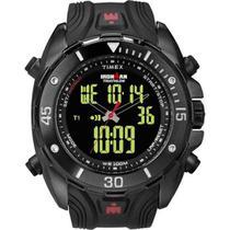 afdb0b409be Relógio Timex Ironman Triathlon Dual-Tech 50laps Anadigi Masculino  T5k405ww Tn