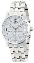 Relógio Tissot Prc200 Masculino Original Prata Fundo Branco -