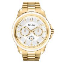 Relógio Unissex Analógico Bulova WB22177h - Dourado -