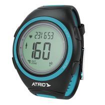 9895bafcc9c89 Relógio Unissex Atrio Citius Monitor Cardíaco ES050 Preto/Azul