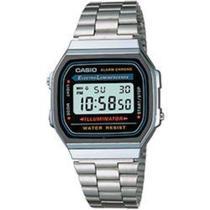 Relógio Unissex Casio Vintage Digital A168WA-1WDF -