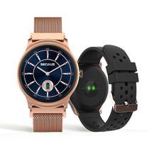 Relógio Unissex Seculus Smartwatch 79005LPSVRE1 49mm Aço Rosé -