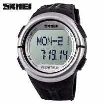 Relógio Unissex Skmei Digital Pedômetro Esporte Preto Dg1058 -