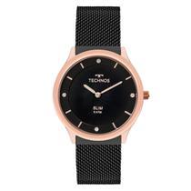 Relógio Unissex Technos Slim GL20HI/4P  40mm Preto -