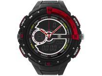 Relógio Unissex Umbro Anadigi - UMB-060-1 Preto