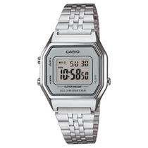 91ccefb1b12 Relógio Unissex Vintage La680wa-7df Prata Digital - Casio