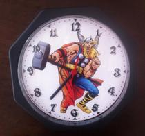 Relógio Vingadores Thor Marvel Viuva negra Arqueiro Herois - Artesanato