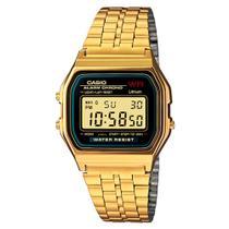 Relógio Vintage Collection Dourado Digital -Casio -