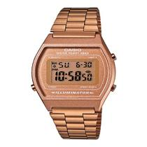 Relógio Vintage Digital B640wc-5adf Rose - Casio