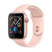 Relógio W34 Smartwatch Inteligente Monitor Cardíaco Pressão Esportes cor: Rosa - Aaa