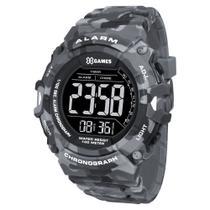 Relógio X GAMES masculino camuflado digital XMPPD487 PXGP - Xgames