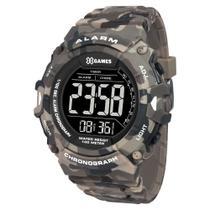 Relógio X GAMES masculino camuflado digital XMPPD488 PXEP - Xgames