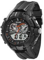 Relógio X Games Masculino Digital XMPPA131 P1PX Pulseira de Silicone Preto - X-Games