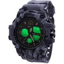 Relógios Masculinos Skmei Shock Robusto de Pulso Digital e Ponteiro Esportivo a Prova Dagua -