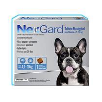 Rémedio para Carrapatos Nexgard 4 a 10kg -