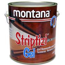 Removedor Tintas Verniz Texturas Striptizi Gel 3,6lt Montana -