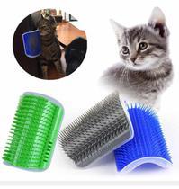 Removedor Tira Pelo Rasqueadeira Gato Pet Escova Com Catnip Prender Parede -