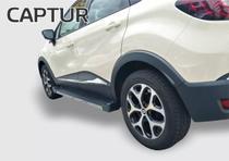 Renault Captur 2017/2018 Estribo Preto Fosco Attack -