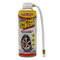 Reparador Instantâneo Pneu Cheio Luxcar 400ml Enche e Veda -