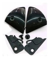 Reparo capcete placa lateral ebf fit 08 / ebf rox / ebf 7 2.0 preta 1210 - Polivisor