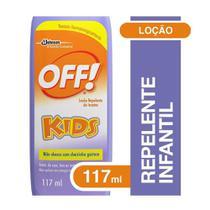 Repelente de Insetos em Loção Kids 117ml - Off! -
