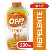 Repelente de Insetos em Spray 200ml - Off! -