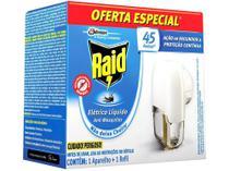Repelente Elétrico Líquido Raid Antimosquitos - 32,9ml 45 Noites -