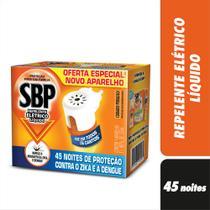 Repelente Elétrico SBP Líquido 45 Noites -