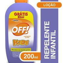 Repelente Off Kids Leve 200 Pague 117ml -