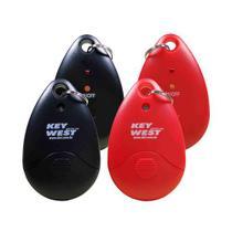 Repelente pessoal portatil - kit preto e vermelho - dni -