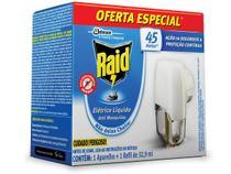 Repelente Raid Eletrico Liquido 45 Noites Anti Mosquitos - Johnson