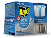 Repelente Raid Eletrico Liquido Advanced 45 Noites Automatic - Johnson