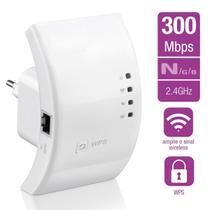 Repetidor Amplificador Wifi  Wireless e Roteador De Sinal 300mbps  Bivolt - lx
