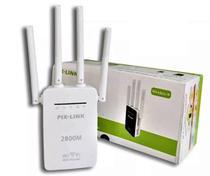Repetidor De Sinal Amplificador Wifi 2800mbps 4 Antenas - Wifi Router