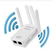 Repetidor Wifi Amplificador De Sinal Mini Roteador 4 Antenas - Pix-Link