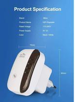 Repetidor wifi sem fio-n rou-6009 inova -