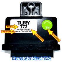Reset Nível Combustível T72 TURY GAS -
