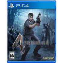 Resident Evil 4 Ps4 Midia Fisica -