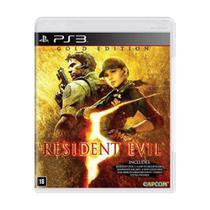 Resident Evil 5 (Gold Edition) - PS3 - Capcom