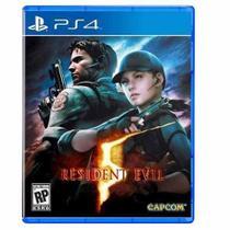 Resident Evil 5 Ps4 Midia Fisica -