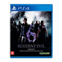 Resident EVIL 6 - PS4 - Capcom