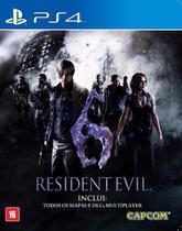 Resident Evil 6 Ps4 Midia Fisica -