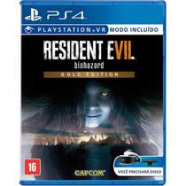 Resident Evil 7 Biohazard Gold Edition - PS4 - Capcom