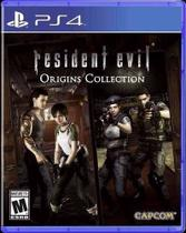 Resident Evil Origins Collection Ps4 Midia Fisica -
