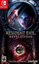 Resident Evil Revelations Collection Switch Midia Fisica -