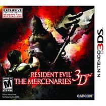 Resident Evil The Mercenaries - 3Ds - Nintendo