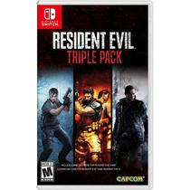 Resident Evil Triple Pack - Switch - Nintendo